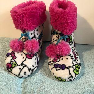 Hello Kitty Warm Slippers